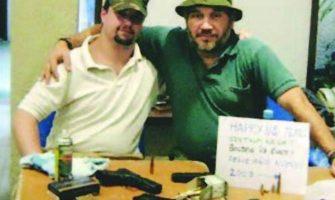 Michael Dwyer and Eduardo Rozsa Flores