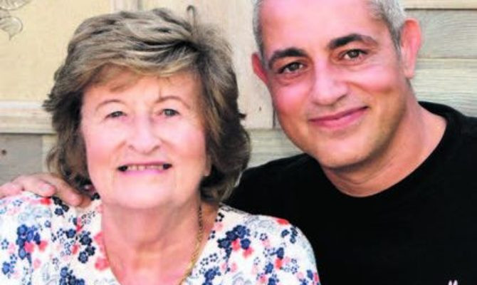 Nancy and Baz Ashmawy