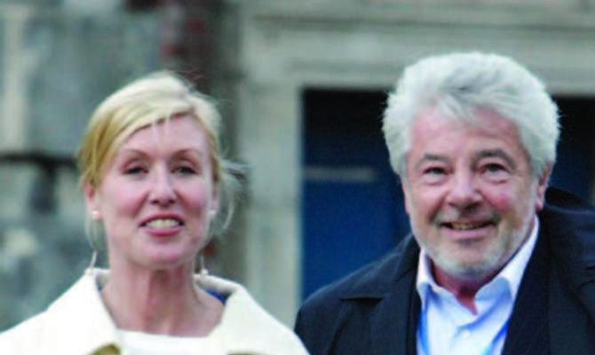 Moya Doherty and John McColgan