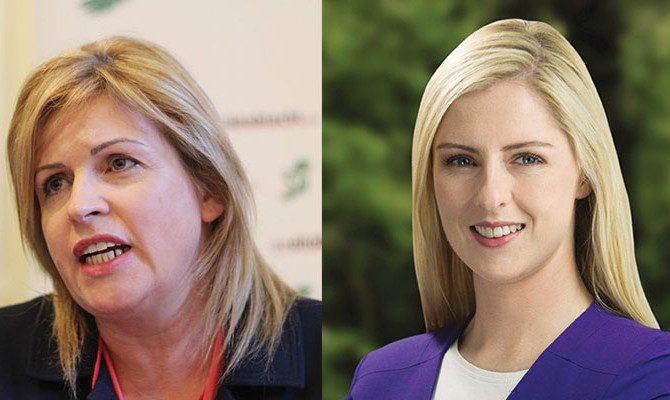 Rose Conway Walsh & Lisa Chambers