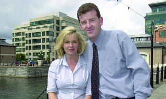 Liz Allen with husband Andrew Hanlon