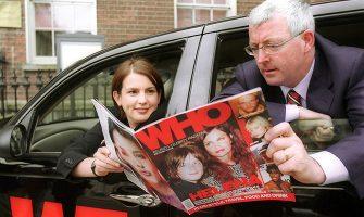 WHO editor Lisa Gaughran and Publisher Mike Hogan