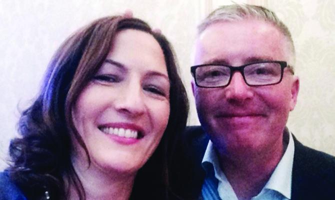 Darina and John Gately