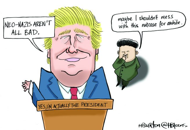 Harry Burton - Trump and Kim