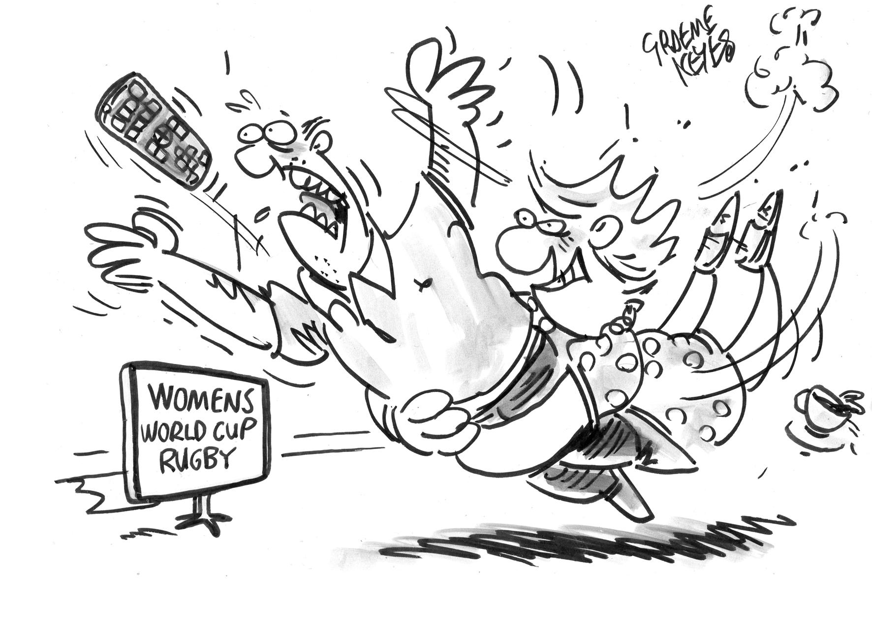Keyes - Women's Rugby