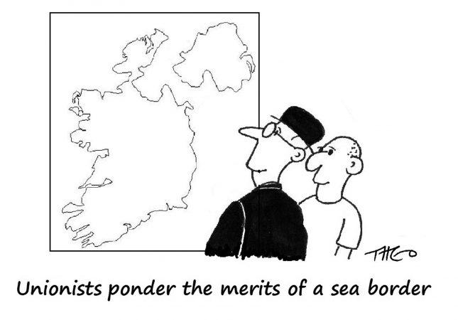 Theo - Sea border
