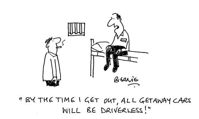 Bernie - driverless