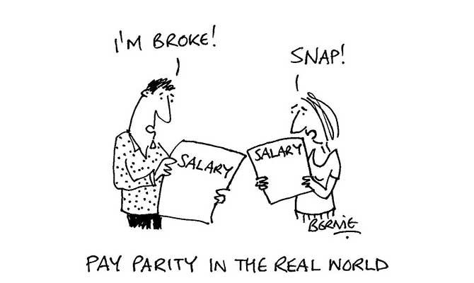 Bernie - pay-parity