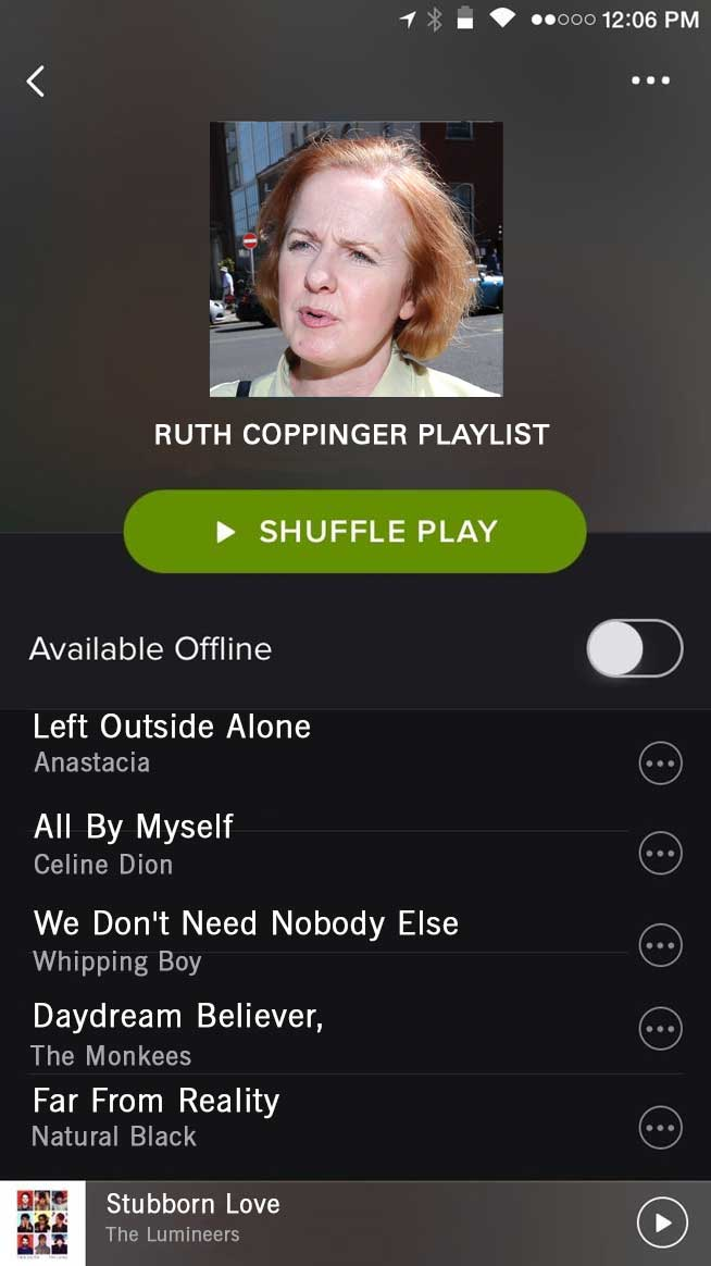 Spotify Coppinger