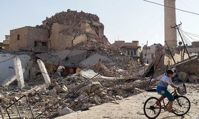 Destruction of Mosul