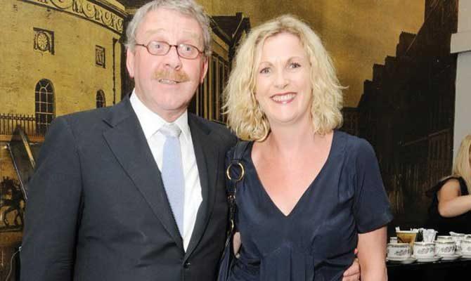 Michael Colgan and Orlaith McBride