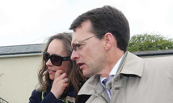 AnneMarie and Aidan O'Brien