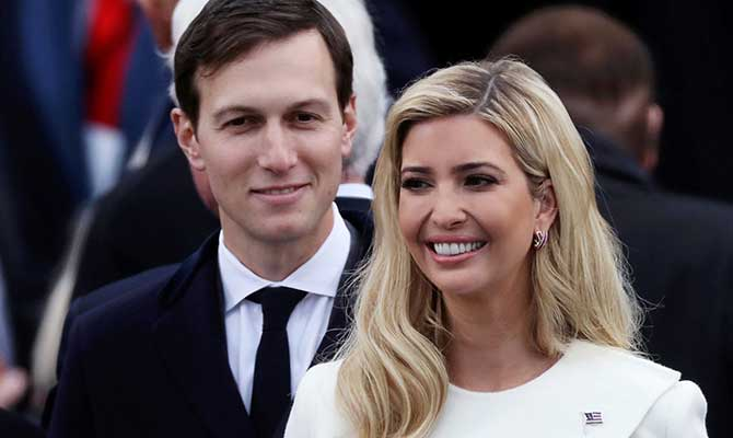Jared and Ivanka Kushner