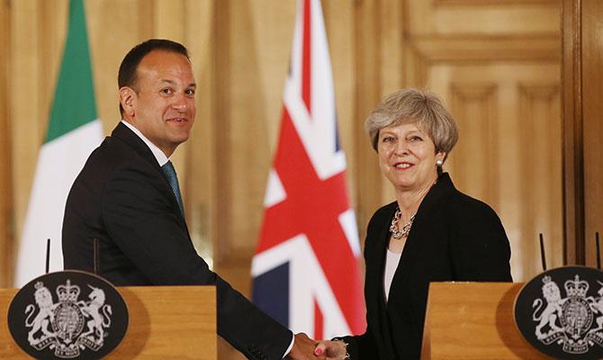 Leo Varadkar and Theresa May