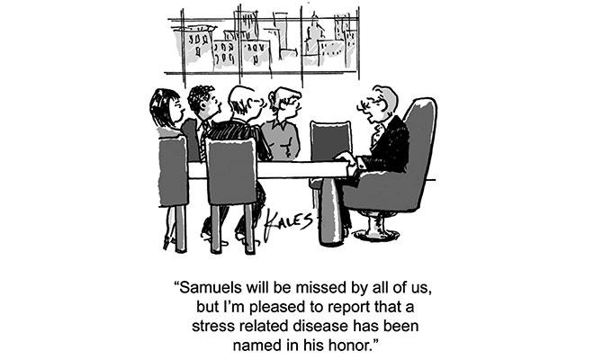 Paul Kales - Stress related disease