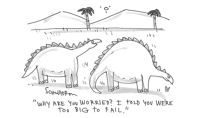 Schwadron - Too Big to Fail