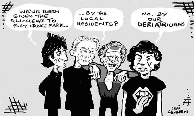 Lennon - Stones in the Park