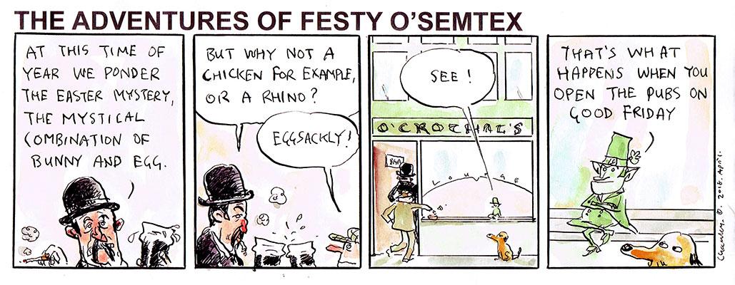 Festy O'Semtex 3607 - Easter