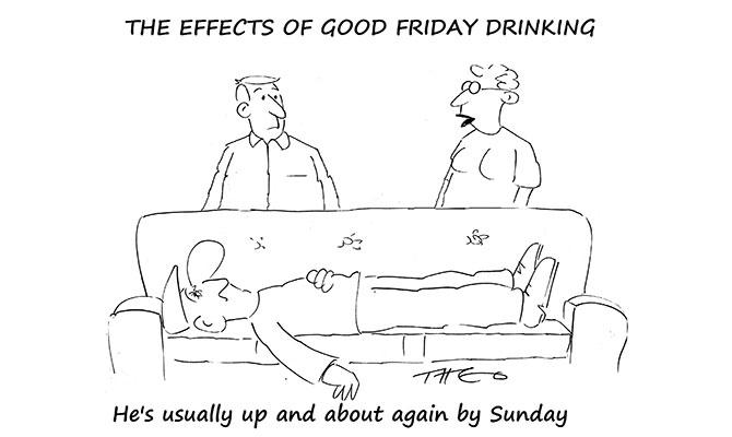 Good Friday drinking