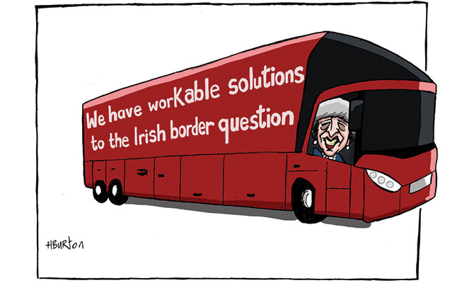 Harry Burton - Border Bus