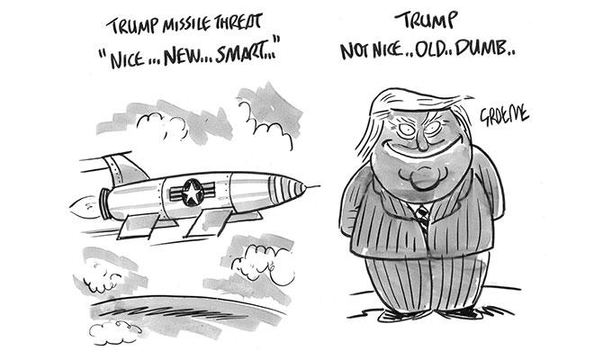 Keyes - Trump missile threat
