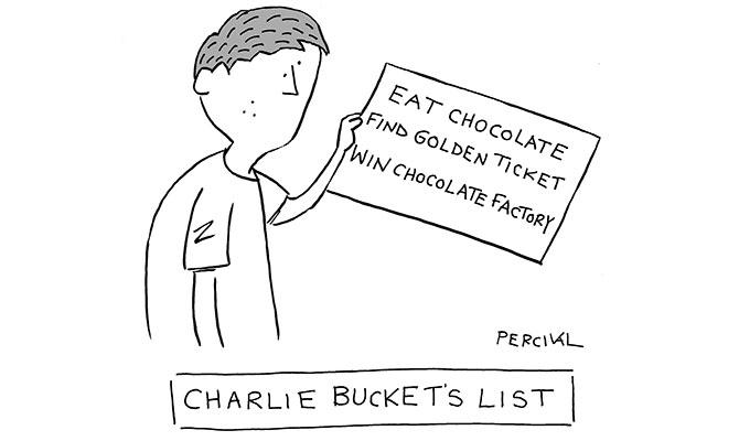 Percival - Bucket list