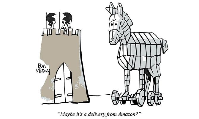 Ron McGeary - Trojan horse