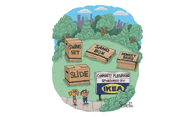 Shiell - Sponsored by IKEA