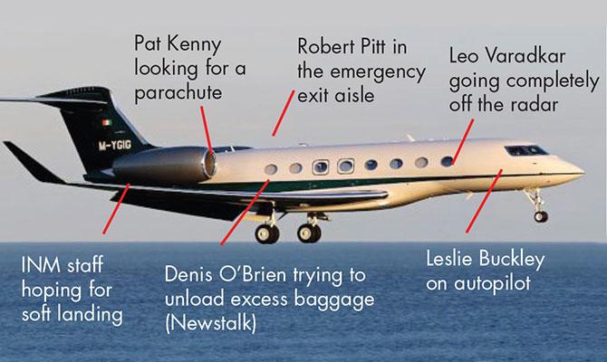 Denis O'Brien jet