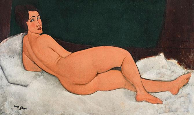 Modigliani - Nu cote