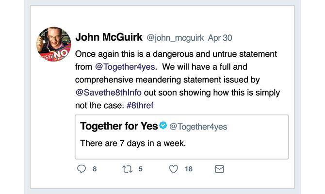 John McGurik tweet