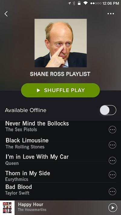 Spotify Ross
