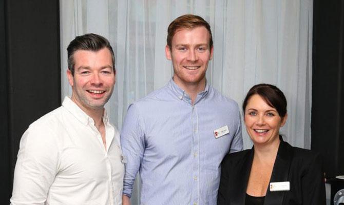 Jonny Davis, Paddy Davis, Sharon Davidge