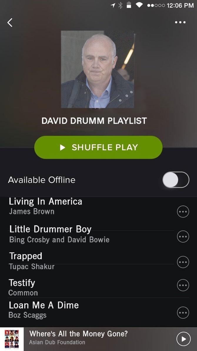 Spotify Drumm