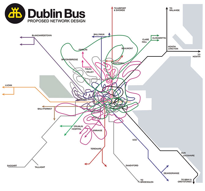 Dublin Bus routes