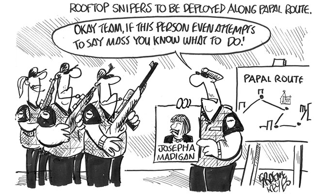 Keyes - Rooftop snipers