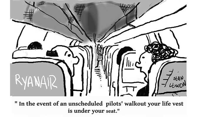 Lennon - Ryanair strikes