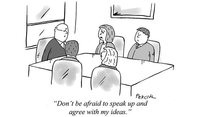 Percival - Don't be afraid to speak