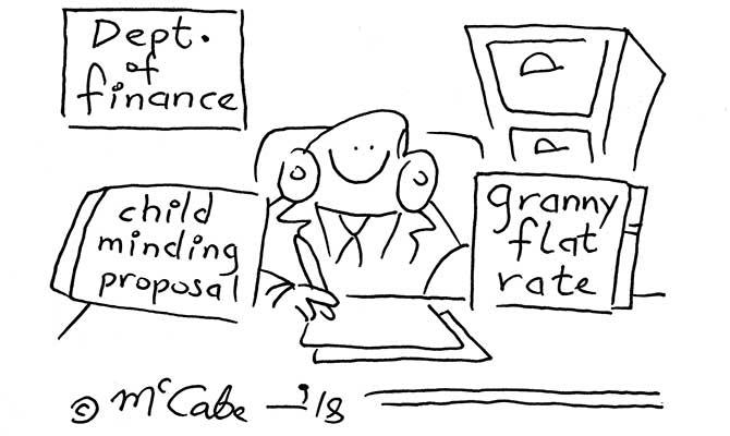 McCabe - granny flat rate