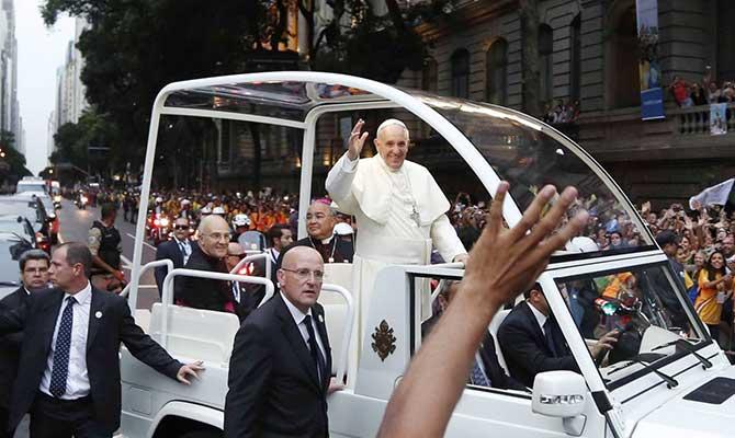 Papal car