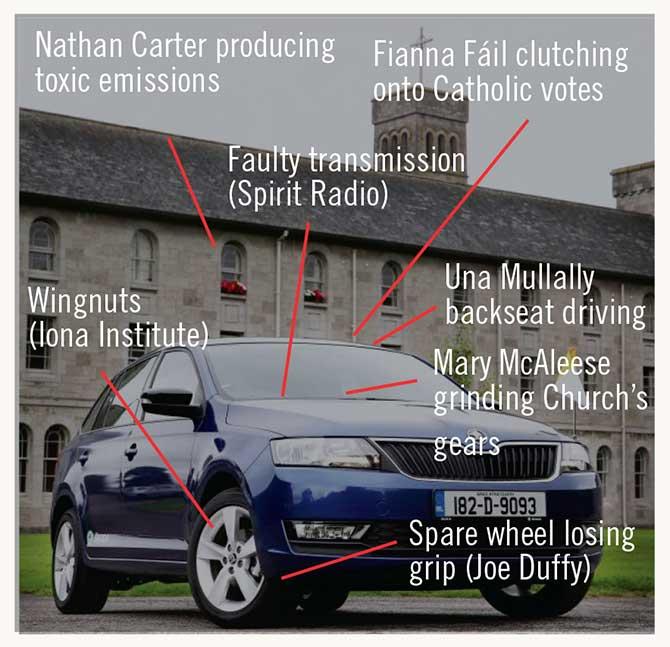 Popes car