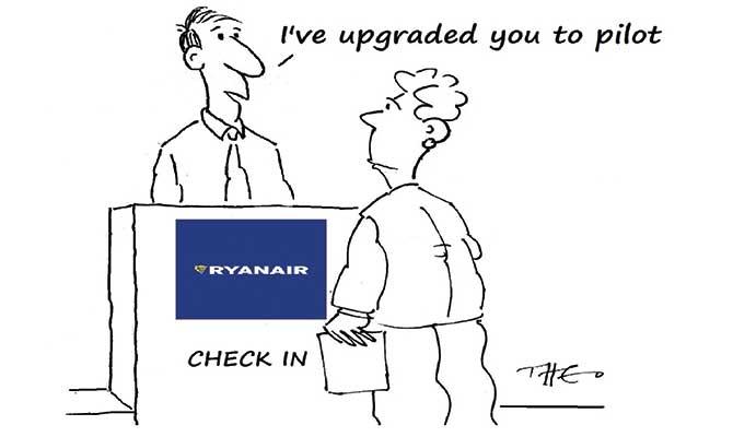 Theo - Ryanair upgrade