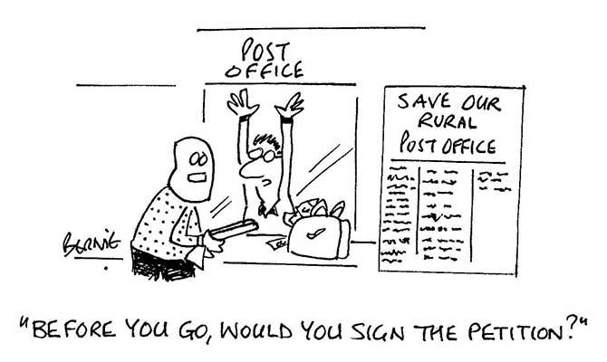 Bernie - Save our post office