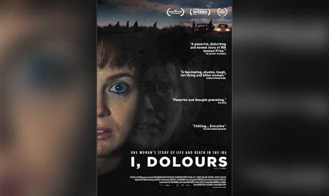 'I, Dolours' film poster