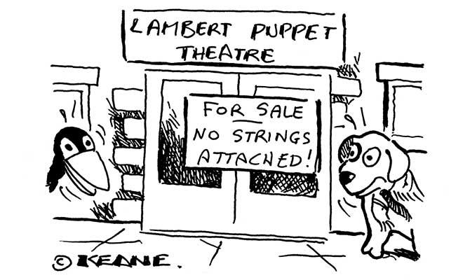 Keane - lambert puppet