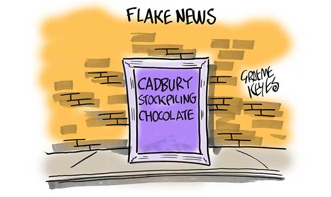 Keyes - flake news
