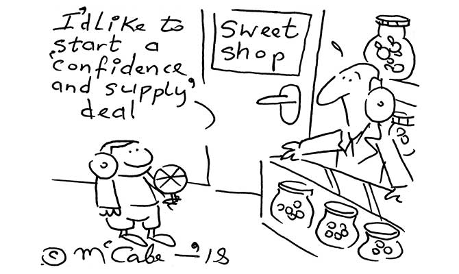 McCabe - confidence and supply