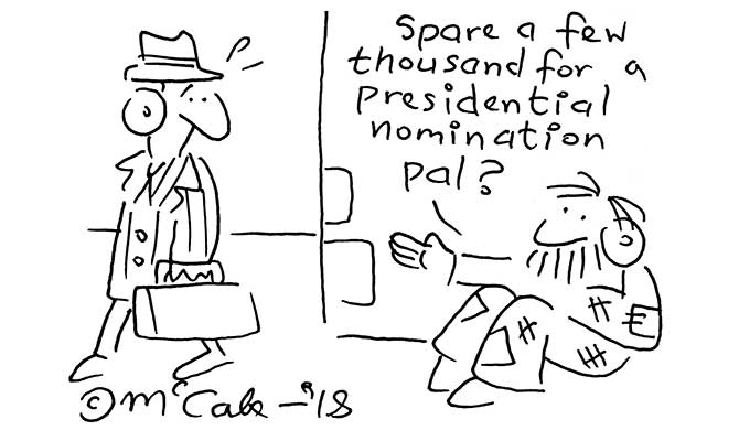 McCabe - Presidential nomination