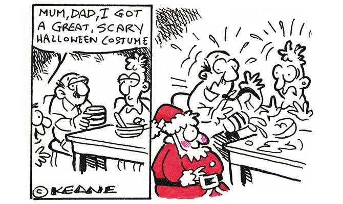 Keane - Halloween costume