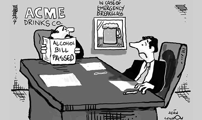 Lennon - Alcohol Bill